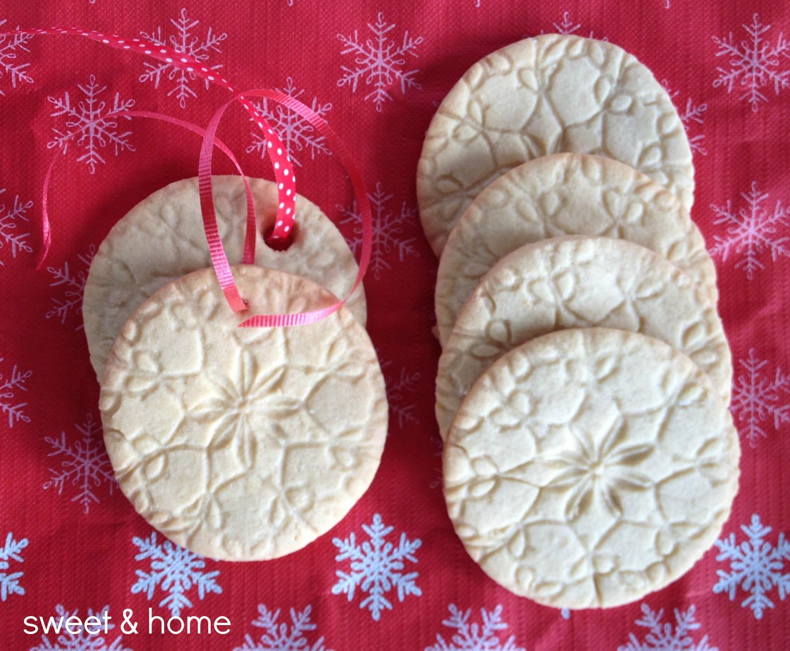 galletas de Navidad grabadas