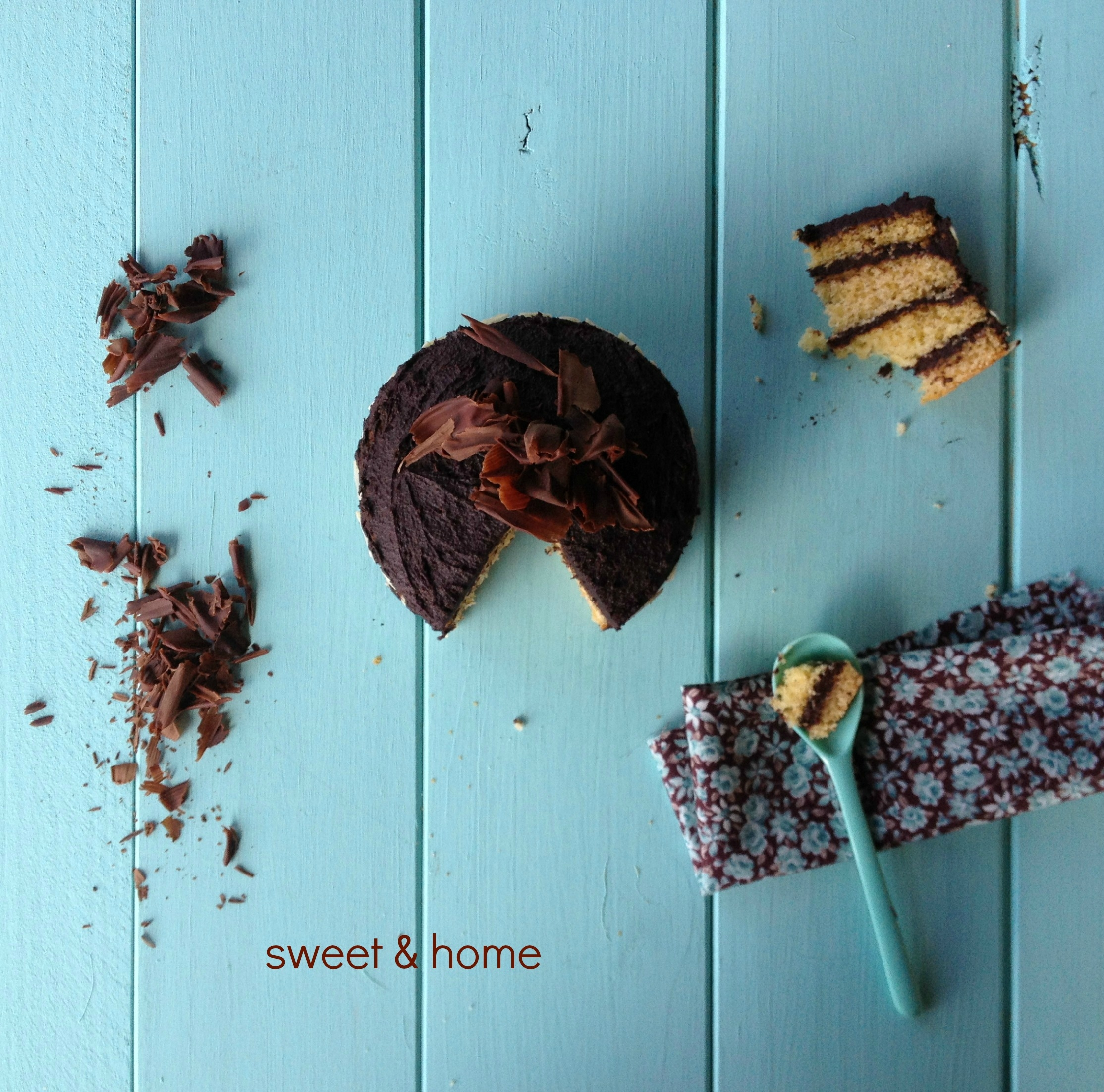 mini-tarta de chocolate