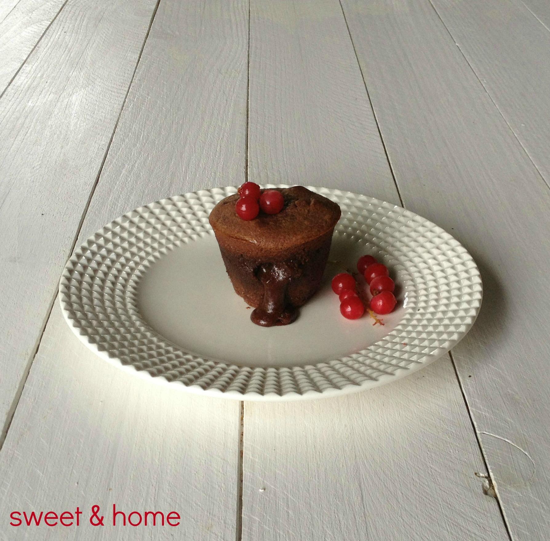 coulant de chocolate