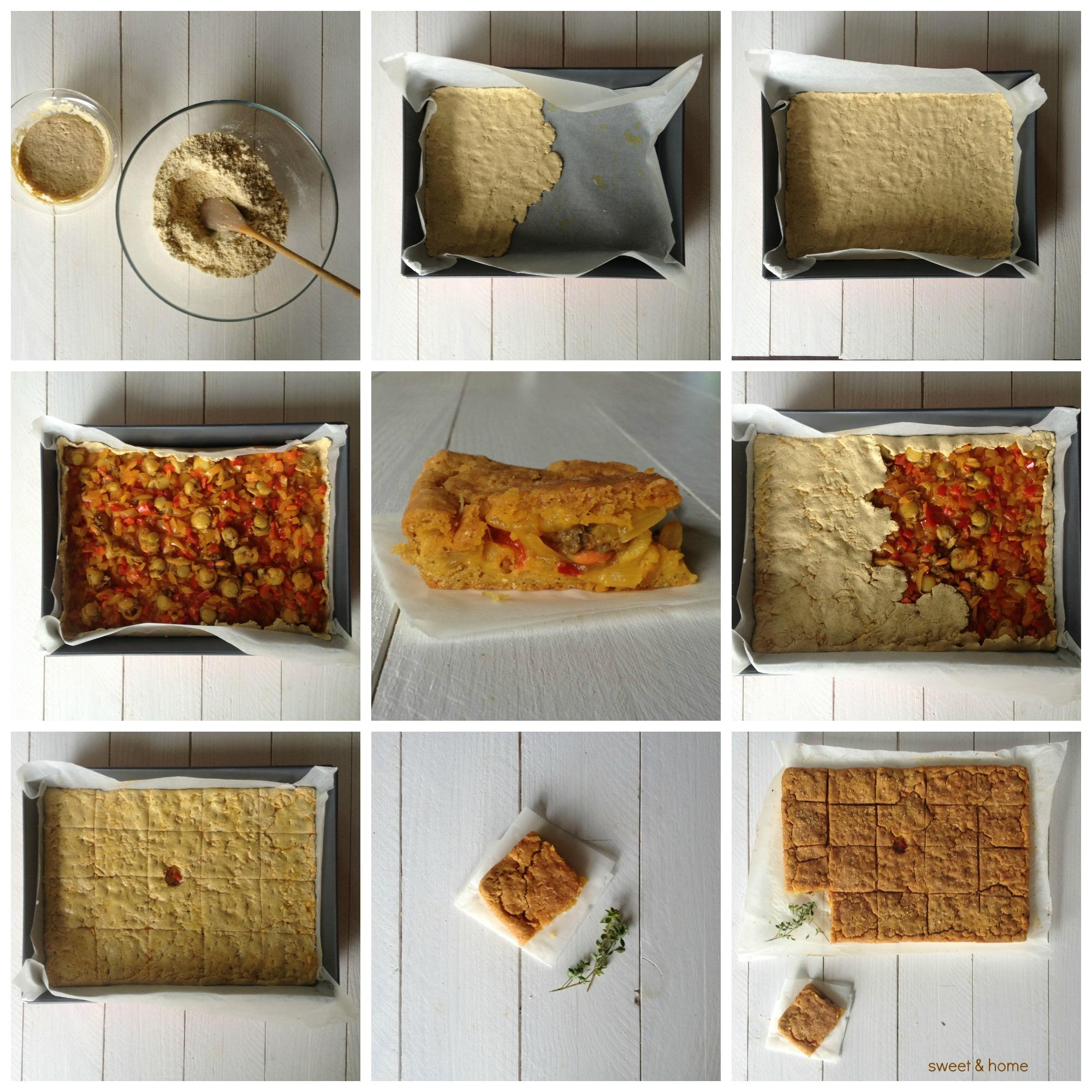 empanada de maiz de zamburiñas