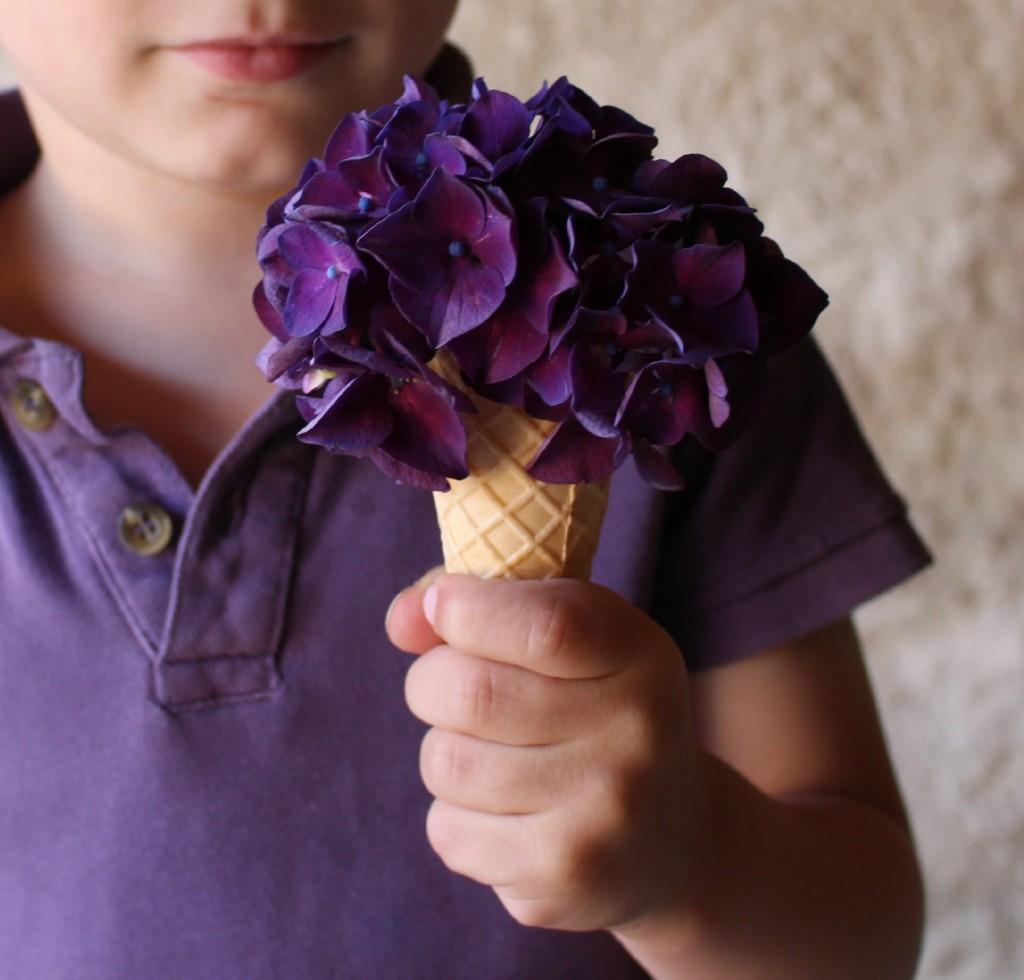 cucurucho de flores