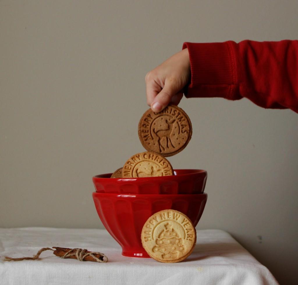 galletas grabadas de Navidad